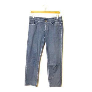 MARC CAIN SPORTS Metallic Trouser Jeans Size N3
